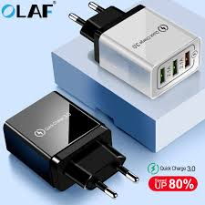 <b>Olaf USB</b> Charger quick charge <b>3.0</b> for iPhone X 8 7 iPad Fast Wall ...