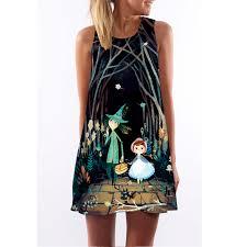 <b>Free shipping 2019</b> Digital printing Women <b>summer</b> dress female ...