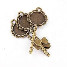 FunnyToday365 5Pcs Diy Antiqued Bronze Vintage ... - Amazon.com