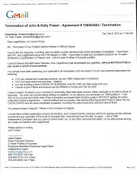 legalshield termination beyond your dreams online marketing john fraser legalshield termination letter to ppl