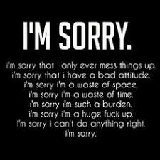 Sorry Quotes on Pinterest | Sad Quotes Hurt, Forgiveness and I'm Hurt