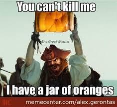 Gangplank - Jar Of Oranges by alex.gerontas - Meme Center via Relatably.com