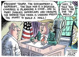 Image result for trump policy on china cartoons