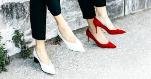 The Truth About Wearing <b>Chunky Heels</b> for Less Foot Pain | Who ...
