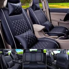 4Colors <b>Universal</b> PU Leather <b>Car Seat Covers</b> for Toyota Corolla ...