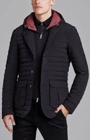 Armani Exchange x The Black Edition - Lightweight <b>Down Blazer</b>