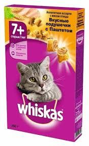 Корм для <b>пожилых</b> кошек <b>Whiskas</b> — купить по выгодной цене на ...