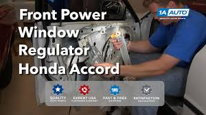 How To Install Replace Front Power Window Motor Regulator ...