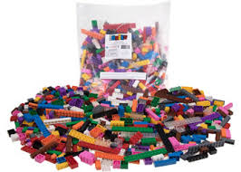 Strictly Briks - <b>12 Rainbow Colour Blocks</b> - 672 pcs (FS) - Ziggies ...