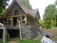 Brookside   sq  ft  From the cabin series of timber frame home    Timber Dream  Timber Work  Log Frame  Timber Frame Homes  Frame Wood  Cabin By The Pond  Our Cabin  A Frame House Plans  A Frame Houses