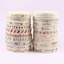 Online Shop 5Yards Handmade Printed Cotton <b>Ribbon DIY</b> Cute ...