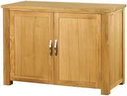 baumhaus aston oak hidden home office baumhaus hidden home office 2 door cabinet