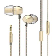 <b>UIISII HM7</b> Golden Earbud Headphones Sale, Price & Reviews ...