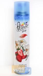 Купить <b>Освежитель</b> воздуха <b>Flower shop</b> Клубника и орхидея, 300 ...