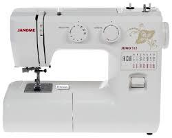 <b>Швейная машина Janome Juno</b> 513 — купить по выгодной цене ...
