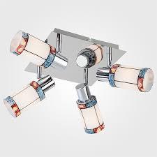 Потолочный <b>светильник</b> с поворотными плафонами