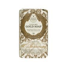 <b>Nesti Dante Nesti dante</b> 60 <b>anniversary</b> luxury gold soap with gold leaf