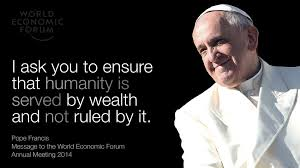 Image result for pope francis capitalism quotes