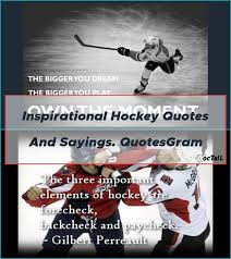 Inspirational Hockey Quotes And Sayings. QuotesGram - hockey ...