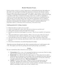 response essay examples summary response essay example example interview summary for