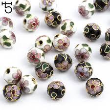 Buy Online 8/10/12mm <b>Copper Enamel</b> Beads charms for <b>Jewelry</b> ...