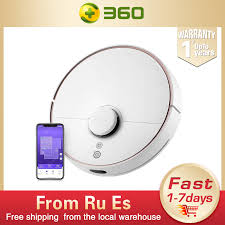 <b>360 S7</b> Robot Vacuum Cleaner Mop <b>Laser</b> Navigation Route ...