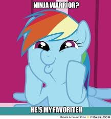 mlp meme | NINJA WARRIOR?... - My Little Pony Meme Generator ... via Relatably.com