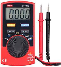 <b>UNI</b>-<b>T</b> UT120C Super Slim <b>Pocket</b> Handheld Digital Multimeters DC ...
