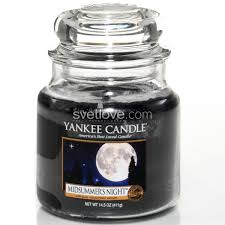 <b>ароматическая свеча</b> yankee candle <b>midsummer's night</b> / летняя ...