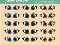 368 лучших изображений доски «<b>наклейки</b> на шары:<b>Глаза</b>,губы,и ...