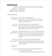 designer resume word excel pdf format web designer resume pdf