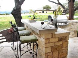 patio outdoor stone kitchen bar:  dind after outdoor bar sxjpgrendhgtvcom