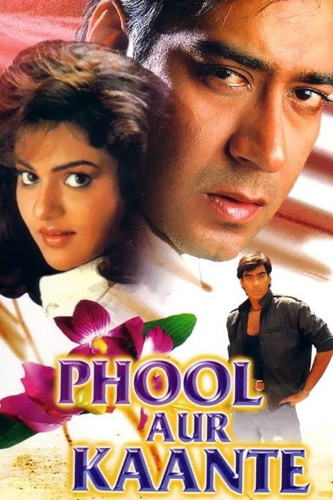download Phool Aur Kaante (1991) Hindi Movie HDRip 480p | 720p