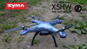 Обзор <b>квадрокоптера SYMA X5HW</b> с сайта TOMTOP - YouTube