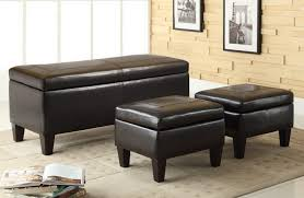 storage bench for living room: wonderful modern bench seating living room black faux leather storage bench beige square area rugs black