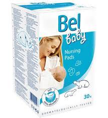 <b>Вкладыши</b> для кормящей мамы <b>Bel</b> Baby Nursing Pads 30 шт ...