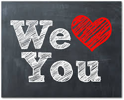 Image result for we love you