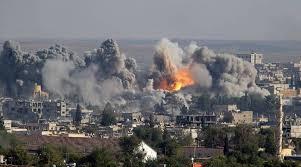 Resultado de imagen de coalicion internacional siria
