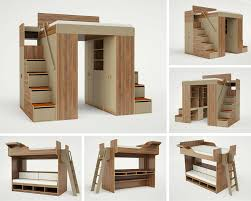king and queen size loft beds for adults bunk bed steps casa kids