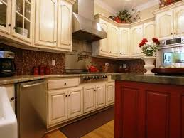 kitchen cabinets with granite countertops: brown polished mahogany cabinetry white granite countertops designs kitchen cabinet stains high gloss finish cherry wood cabinets creamy polished mahogany