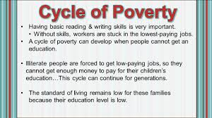how it impacts the standard of living standards ss6g11 the 9 having