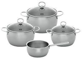 Набор посуды Fissler <b>C</b>+<b>S Prestige</b> 3212804 7 пр. — стоит ли ...