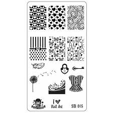 Sugar Bubbles <b>Stamping</b> Plates – Beautometry