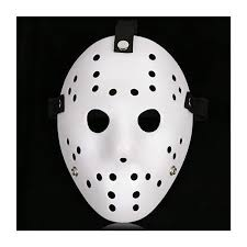 Costume <b>Prop Horror</b> Hockey Mask <b>Halloween</b> Myers Black ...