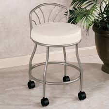 inspiration bathroom vanity chairs: nice looking modern vanity stool for bathroom stools