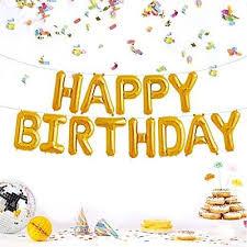 "<b>13Pcs</b> ""<b>HAPPY BIRTHDAY</b>"" Letters Foil <b>Balloons For Birthday</b> Party ..."