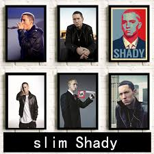 Eminem <b>poster</b> Hip Hop rap Painting Room <b>decoration HD Home</b> ...