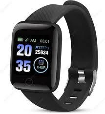 Nasim <b>116 PLUS Bracelet</b> Heart Rate Waterproof Smartwatch Price ...