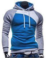 <b>Fashion IZZUMI</b> Paneled Raglan Sleeve Drawstring Hoodie (GREY ...