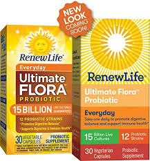Renew Life - <b>Ultimate Flora Probiotic Everyday</b> - 15 billion - daily ...